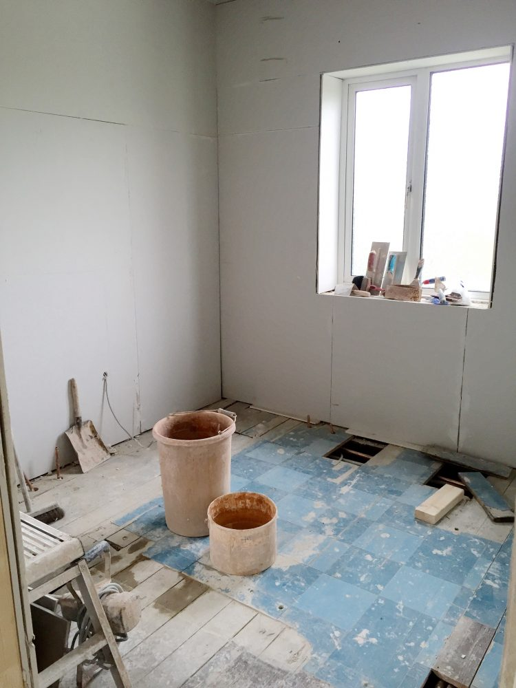 7 - Bathroom - boarded