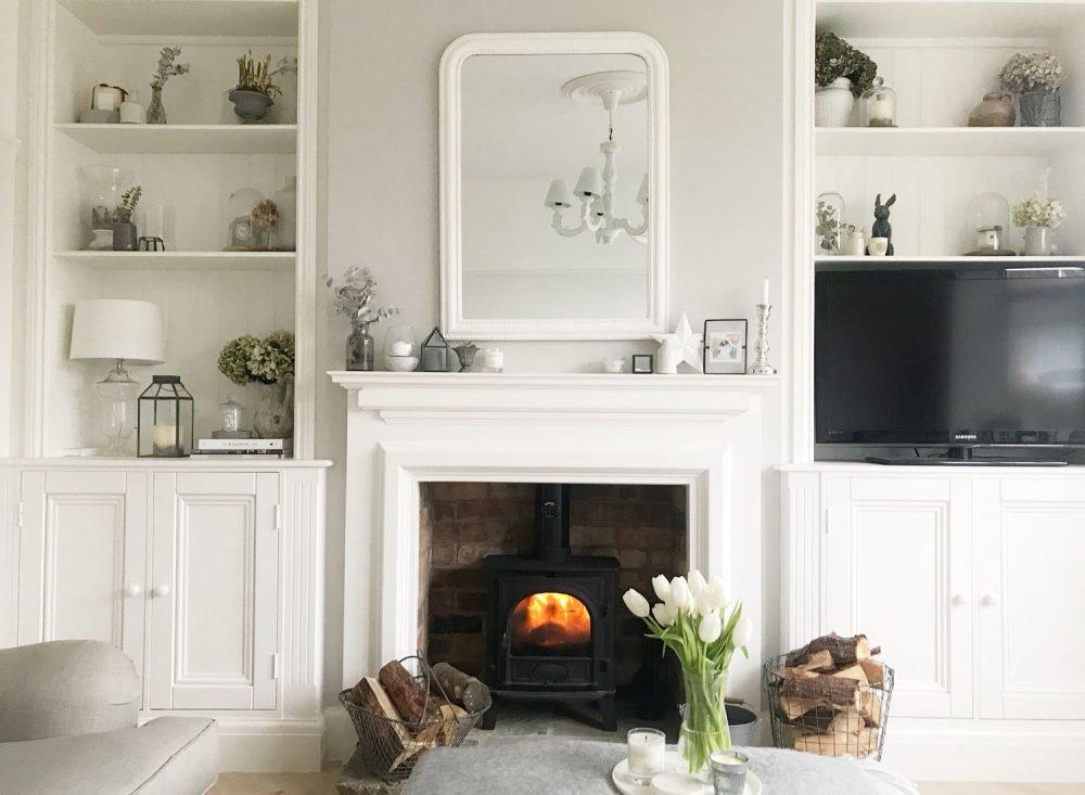 Living Room Makeover The Hoppy Home