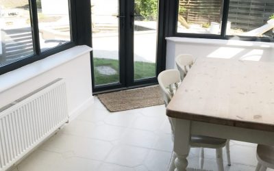 HOW TO PAINT UPVC – BUDGET CONSERVATORY MAKEOVER