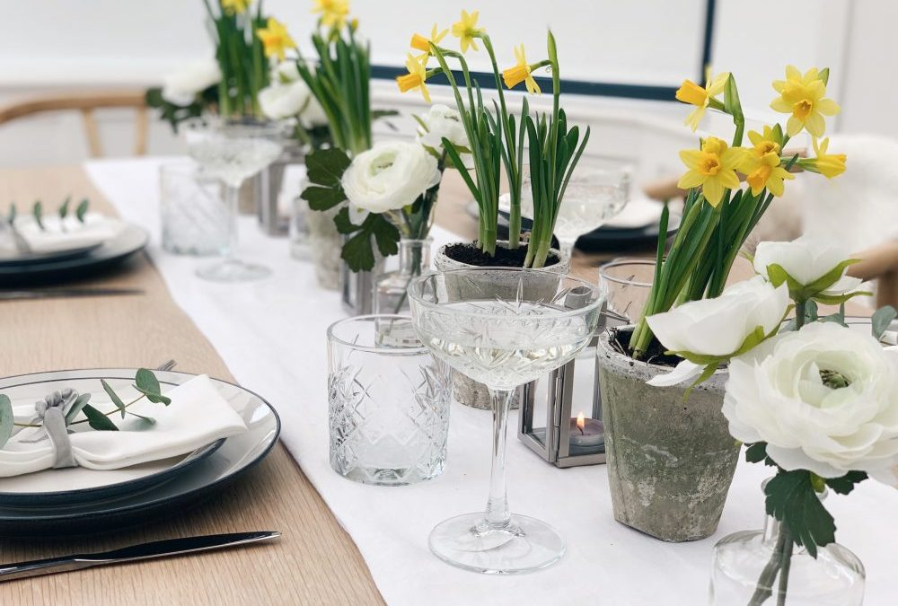 4 SIMPLE WAYS TO ADD SPRING & EASTER INTO YOUR HOME, IN PARTNERSHIP WITH SAINSBURYS