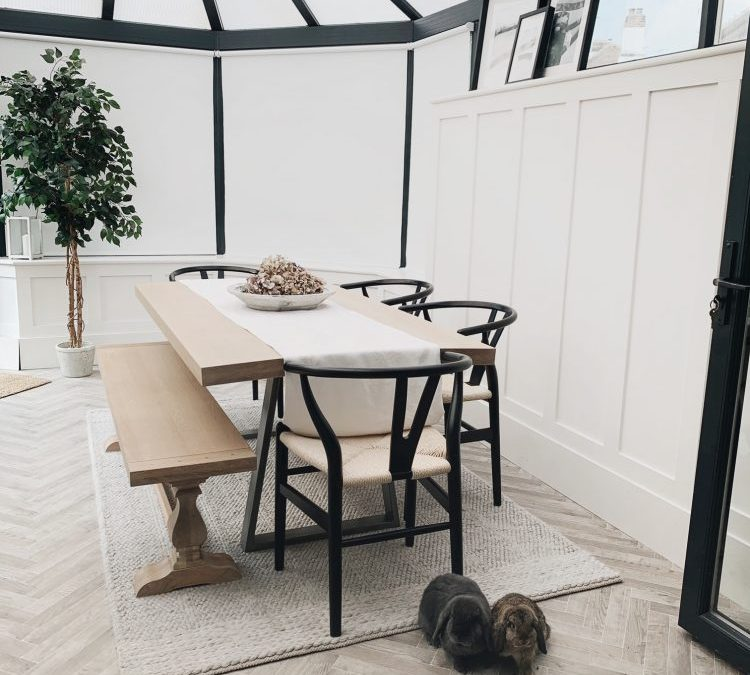 CONSERVATORY MAKEOVER – INCLUDING DIY PANELLING