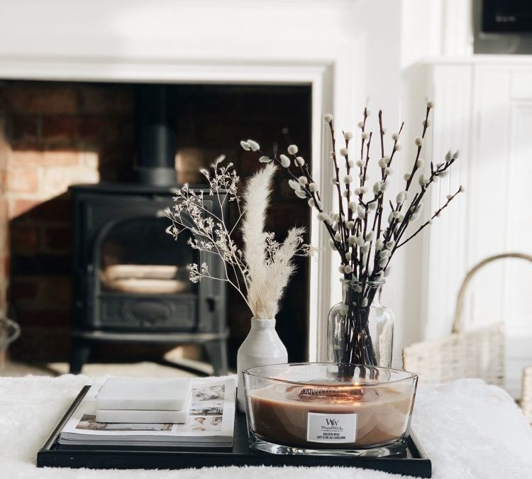 Spring styling & scenting at home, in partnership with WoodWick® Candles. AD